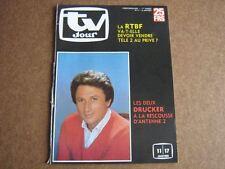 TV JOUR 86/02 (8/1/86) MICHEL DRUCKER RENAUD