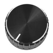 5x Black Aluminum Volume Control Amplifier Knob Wheel 08he