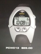 SPOON Pulsar PCW013 'STINGRAY' Series - Silver/Black Digital Watch - *New* Seiko