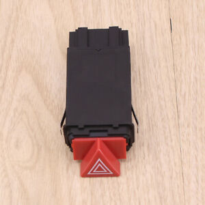 HAZARD WARNING LIGHT SWITCH FLASHER RELAY For AUDI A3 A4 B5 A6 C6 4B0941509D