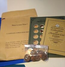The Franklin Mint Collection Of Antique Car Coins Series #1 Bronze Floyd Clymer