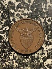 1911-S U.S. Philippines 1 Centavo Lot#Q2297