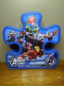 Marvel Avengers Assemble 8 Puzzle Collection 48 Pieces