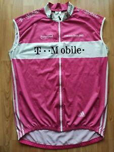T-Mobile Team 2005 Windstopper Vest , Adidas , Jan Ullrich Size: L VERY RARE !
