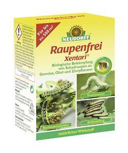 Neudorff Raupenfrei Xentari 25g  Buchsbaumzünsler Frostspanner Kohlweißling500qm