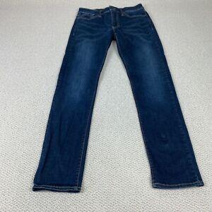 American Eagle 34x34 Slim Extreme Flex Blue Jeans Dark Wash Casual