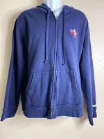 Polo Ralph Lauren Men Size XL Blue Hoodie Sweatshirt Us Open New York City 2006