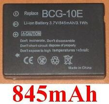 Batterie 845mAh type BCG10 DMW-BCG10E BCG10GK Pour Panasonic Lumix DMC-TZ10