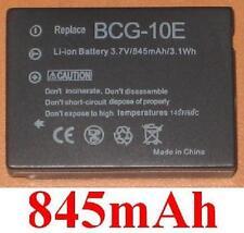 Battery 845mAh type BCG10 DMW-BCG10E BCG10GK For Panasonic Lumix DMC-TZ10