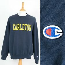 MENS VINTAGE CHAMPION SWEATSHIRT CARLETON UNIVERSITY SWEATER USA COLLEGE XL