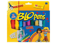 BloPens Blo Pens Pustestifte Cool 10er Set NEU 300912