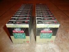 Prang Hygieia Yellow 31344 Dustless Board Chalk 24 Boxes Sealed 288 Total Pieces