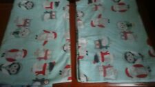 Set of 2 Christmas Owl Flannel Pillow Cases
