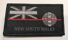 NSW Fire Patch, NSW State Flag, Thin Red Line, Hook Rear