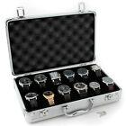 Tech Swiss TSBOXAL12 Watch Storage Aluminium Case Watch box