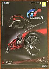Gran TURISMO 5 PS3 RARO UFFICIALE VIDEO GAME PROMO POSTER 43x60cm # 1