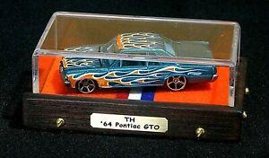 2011 Hot Wheels Treasure Hunt '64 Pontiac GTO Mint Car
