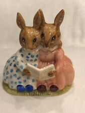 "Royal Doulton Bunnykins ""Story Time"" Db9 1974 Easter - England"