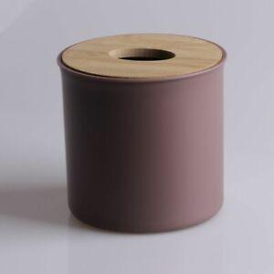 Multicolor Plastic Tissue Box Roll Paper Cover Napkin Storage Hotel Toilet Car