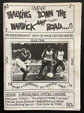 Walking Down The Warwick Road Issue 1 Manchester United Fanzine 1990 WDWR