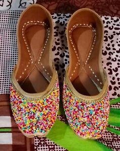 punjabi jutti khussa shoes wedding shoes ethnic shoes mojari indian slipper juti
