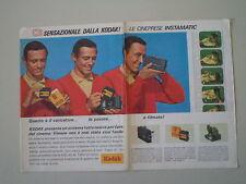 advertising Pubblicità 1966 KODAK INSTAMATIC SUPER 8