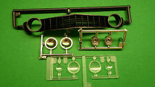 1969 chevy Camaro Z28 SS 1/12 new grille grill hadlamp lenses glass chrome trim