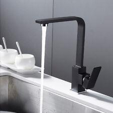 Küchenarmatur Schwarz | Wasserhahn Küche | Spültischarmatur | Spülenarmatur