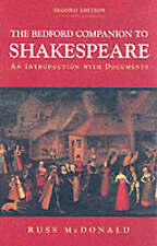 Bedford Companion to Shakespeare-ExLibrary