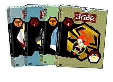 Samurai Jack Complete TV Series Seasons 1-4  Season 1 2 3 4  Box / DVD Set(s)