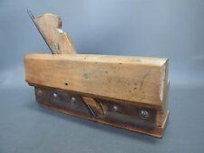 Wooden drawer bottom grooving plane vintage old tool