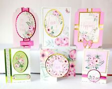 Bumper Luxury Kanban Card Making Kit - 'A Lovely Bouquet'- Makes 20 Cards (320)