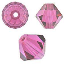 Swarovski Crystal Bicone. Fuchsia Color. 3mm. Approx. 144 PCS. 5328