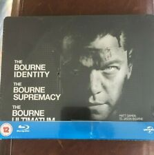 The Ultimate Bourne Collection Trilogy OOP Bluray Steelbook- NEW