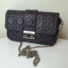 Christian Dior Cannage Lock Pouch P