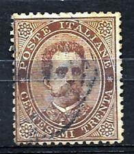 1879 UMBERTO 1a serie - 30 centesimi usato