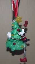 Disney Store Goofy Hanging Ornament Christmas tree decoration bauble mickey