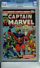 CAPTAIN MARVEL #31 CGC 9.6 AVENGERS DRAX & THANOS APPEARANCE
