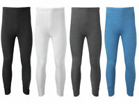 Pack of 2,4, 6 Thermal Pants Long Johns, Warm Baselayer Trousers Set, S M L XL