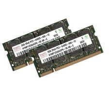 2x 2gb 4gb Notebook MEMORIA RAM ddr2 800 MHz pc2-6400s in modo DIMM Hynix + +