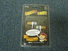 iHIP Wacky Ear Buds Headphones Ear Phones HotDog Buds NEW
