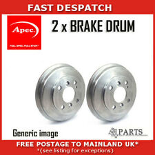 2 X REAR BRAKE DRUMS FOR HYUNDAI DRM9194