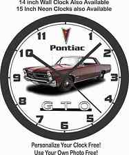 1964 PONTIAC GTO WALL CLOCK-Ford, Chevrolet, Oldsmobile, Buick