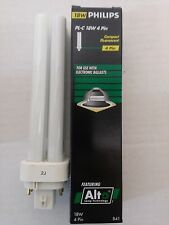 Philips 383331 Compact Fluorescent Light Bulb PL-C 18W/841/4P/ALTO QTY 10
