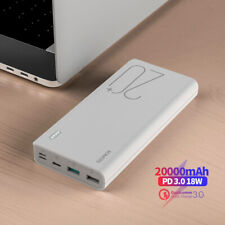 Romoss 20000mAh Powerbank 18W PD USB-C Carica Batteria Esterna 3USB RAPIDA QC3.0