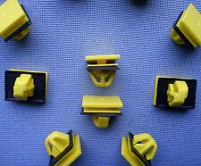 (2161) 10x Zierleistenklammern Clip Klips Zierleisten für Hyundai, Kia, gelb