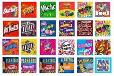 12 Vinyl Peel And Stick 25 X 25 Bulk Vending Candy Machine Labels