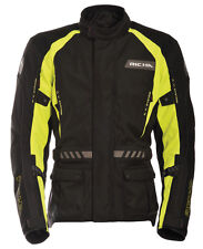 Richa Discovery Textile Waterproof Touring Motorcycle Jacket - Black / Yellow
