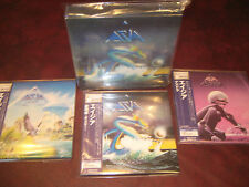 ASIA RARE 3 Replica TO THE ORIGINAL LP IN A RARE JAPAN OBI CD LIMITED Box Set