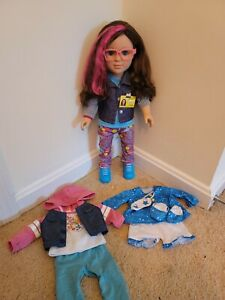 """My Life 18"""" Doll Programmer with extra outfit & pjs"""